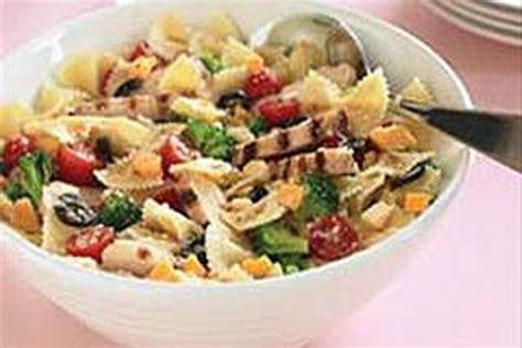 chicken bow tie pasta salad recipe kraft recipes