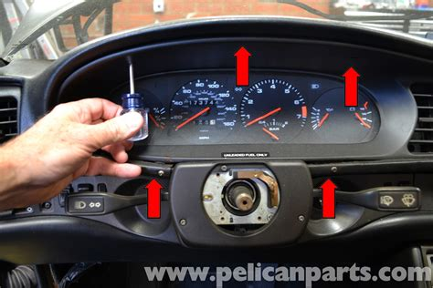 how make cars 1989 porsche 944 instrument cluster porsche 944 turbo instrument cluster replacement 1986 1991 pelican parts diy maintenance article