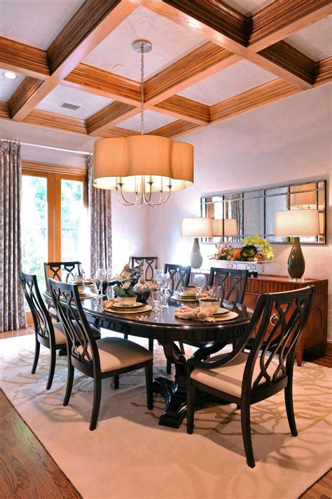staircase design with dinning table photos hgtv transitional dining room with oval table clipgoo