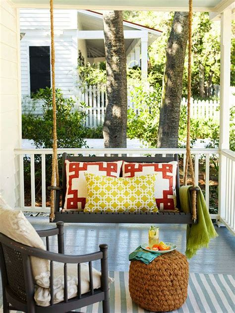 swing on front porches front porch swing plans woodworking projects plans