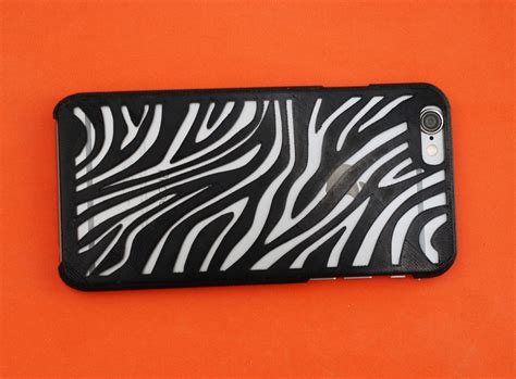 Iphone Supreme Zebra Cover Casing 1 Iphone 6 Zebra 3d Model 3d Printable Stl Cgtrader