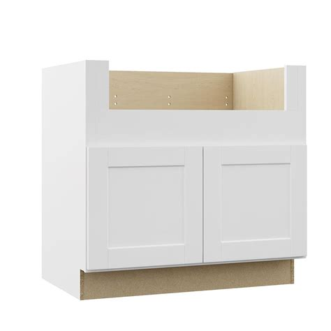 white kitchen base cabinets hton bay shaker assembled 36x34 5x24 in farmhouse