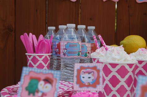 Sheriff Callie Decorations by Sheriff Callie S West Birthday Ideas And