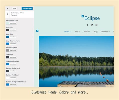 eclipse theme portfolio eclipse best photography portfolio wordpress theme wpzoom