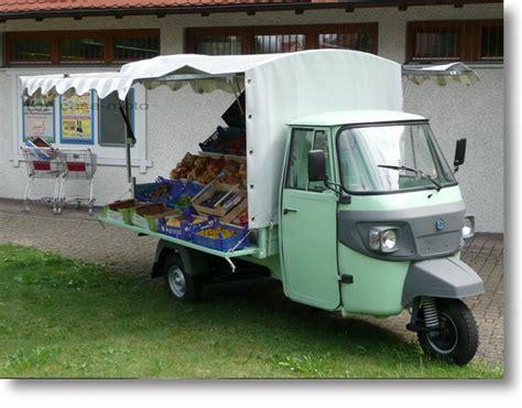 Mobil Up Piaggio Ape Mini der piaggio ape marktstand auf basis der ape classic im