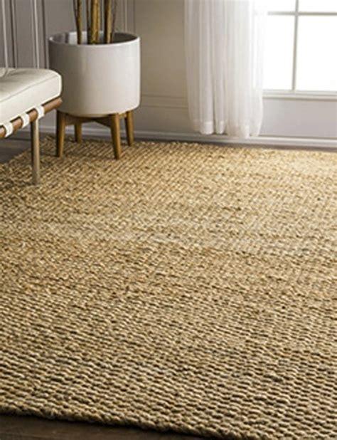 alfombra yute yute natural hecha a mano