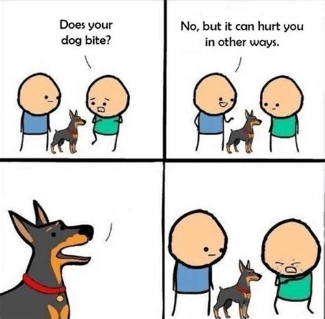 Dog Bite Meme - does your dog bite blank template imgflip