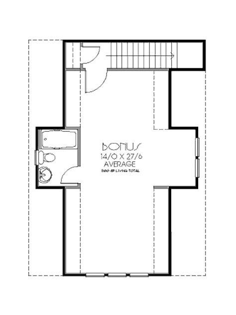 craftsman style house plan 0 beds 1 baths 500 sq ft plan