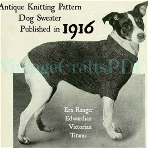 Knitting Pattern Dog Coat Jack Russell | shop crochet dog sweater on wanelo