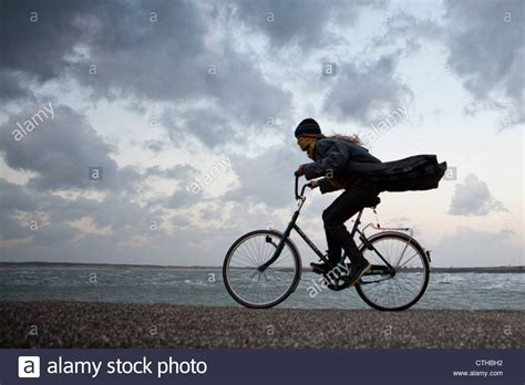 stock photos stock images alamy the netherlands kerland cycling against the