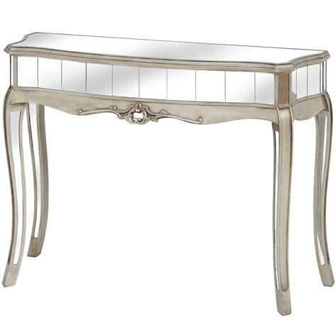 mirrored console table the range mirrored console table melody maison 174