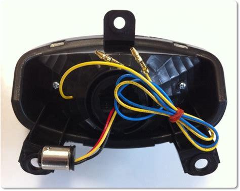 Lu Led Gt 125 hyosung led taillight turn signals
