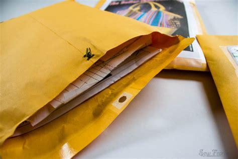 pattern envelope storage organizing your sewing patterns