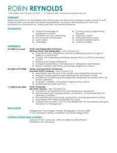 hvac resume objective examples best hvac and refrigeration resume example livecareer sample resume hvac template maintenance technician entry