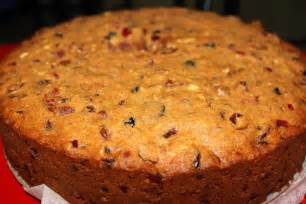 christmas fruit cake recipe dishmaps