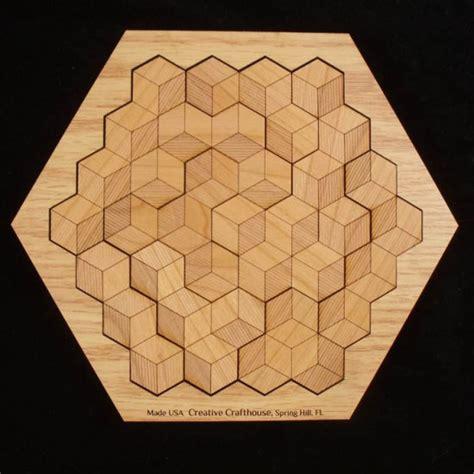 printable hexagon puzzle hexagon 10 in solved base puzzlewarehouse com