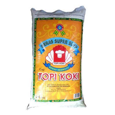 Topi Koki Setra Ramos Beras 20 Kg topi koki slyp 20 kg citra utama sembako
