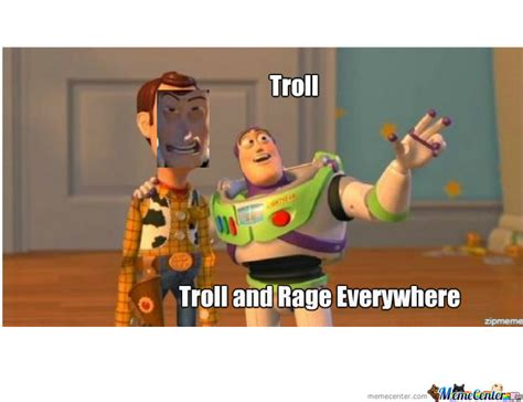 Buzz And Woody Meme - woody buzz troll by johnlp meme center
