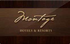 Montage Gift Card - buy montage hotels resorts gift cards raise