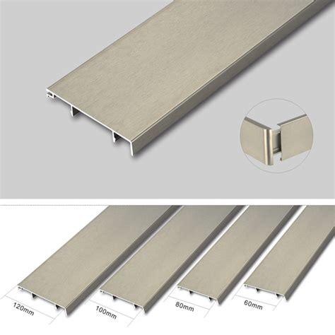 Varnesse Floor Plin Skirting Board 10cm aluminum skirting board cover aluminum waterproof