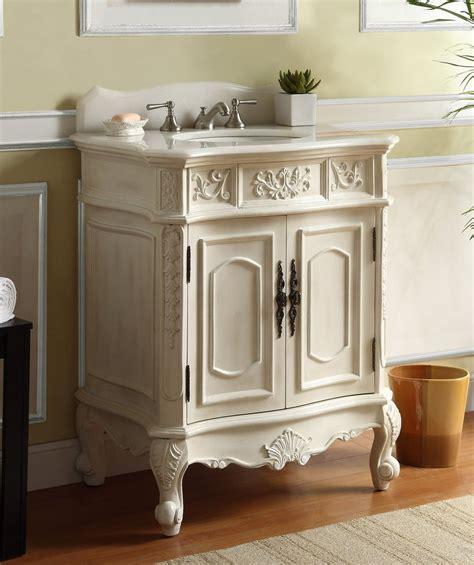 30 Inch White Bathroom Vanity by Adelina 30 Inch Antique White Single Sink Bathroom Vanity