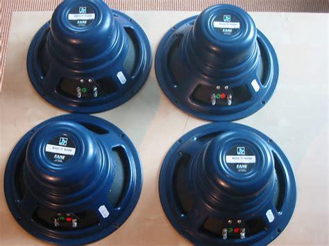 Speaker Fane 10 fane axa 10 alnico 10 quot guitar speaker set of 4 reverb