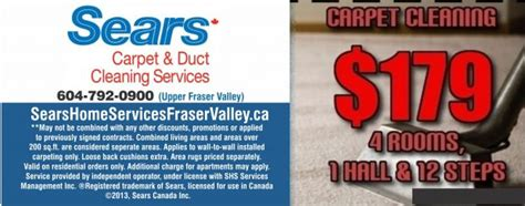 Sears Upholstery Cleaning Coupons by Carpet Cleaning Chilliwack At Sears Carpet Upholstery