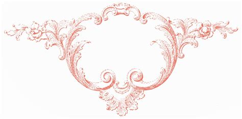 ornaments frames vintage clip ornaments frames with scrolls the