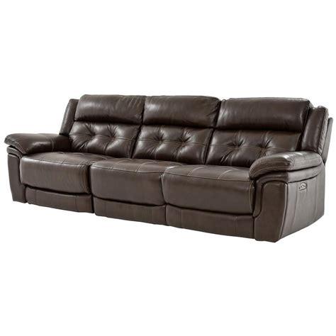 el dorado furniture leather sofas stallion brown oversized leather sofa el dorado furniture