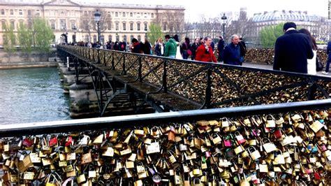 images of love locks parisians seek split from love locks cnn com