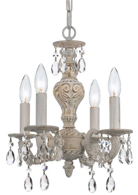 crystorama lighting 5024 aw cl s antique white