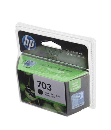Cartridge Hp 703 Black 1 hp 703 inkjet cartridge black buy cartridges toners