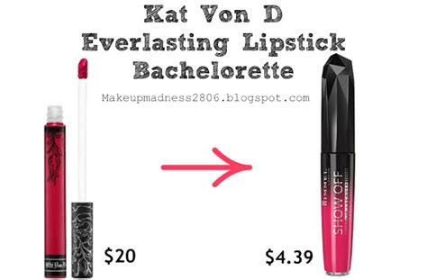 tattoo me 48 hour liner makeup madness kat von d dupes