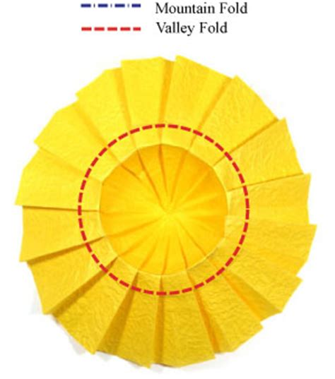 Origami Sunflower Step By Step - how to make an origami sunflower page 6