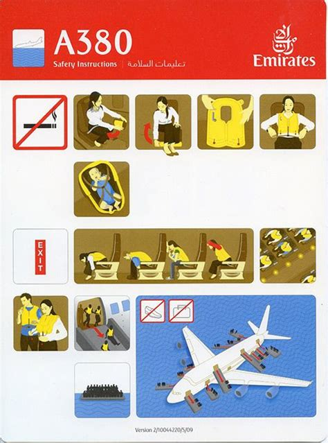Collection Of Airline Safety Cards by 17 Best Images About Aircraft Safety Card On