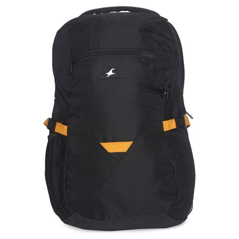 Zipper Backpack Tas Wanit shop fastrack black backpack for a0612nbk01 from mens store titan