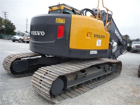 zero tail swing 2009 volvo ecr 235cl hydraulic excavator s n