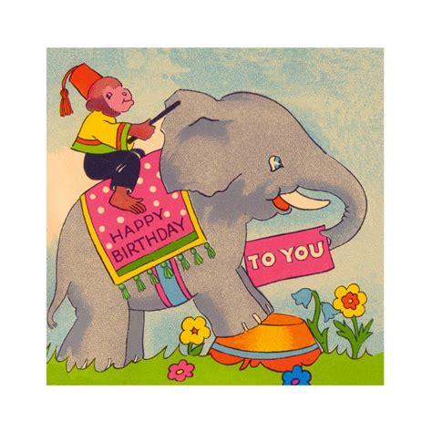 Elephant Birthday Cards Elephant Birthday Card Elfie Children S Clothes