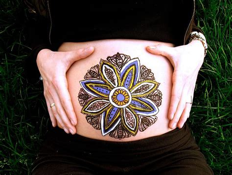 imagenes para pintar barrigas de embarazadas barrigas de dise 241 o la tendencia que arrasa entre las
