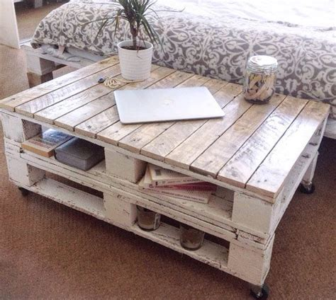 25  best ideas about Palette Table on Pinterest   Pallet tables, Pallet coffee tables and