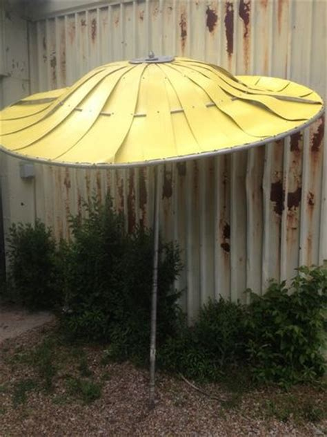Vintage Patio Umbrella Vintage Aluminum Patio Umbrella 9 Ft Aluminum Patio Umbrella Antique Beige Aluminum Patio