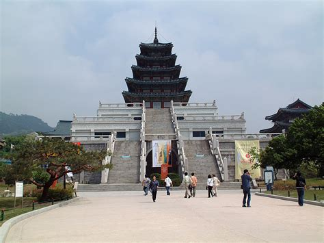 in korea the national folk museum of korea seoul south korea