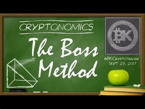 bitconnect bittrex the boss method explained technical analysis