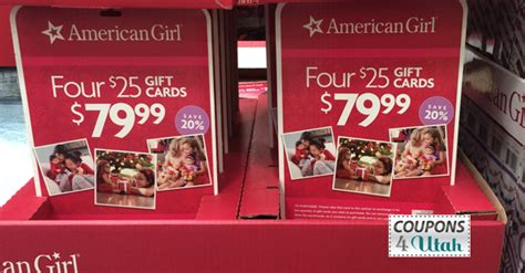 Where Can You Buy American Girl Gift Cards - american girl dolls best deal of the season coupons 4 utah