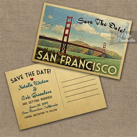 Wedding Invitations San Francisco by San Francisco Wedding Invitations Vtw Nifty Printables