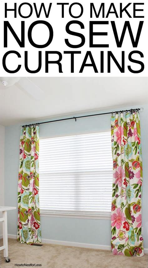 how to make curtains how to make no sew curtains fabric online make curtains