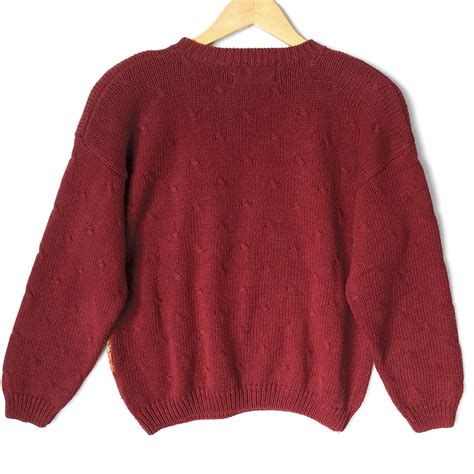 Teddy Sweater teddy pilgrims thanksgiving sweater the sweater shop