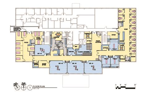 ambulatory surgery center floor plans ambulatory surgical center plan google search