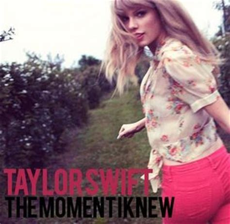 taylor swift and that was the moment i knew the moment i knew song taylor swift wiki