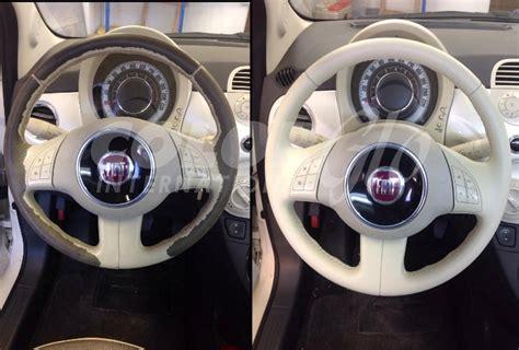 rivestire volante pelle riparazione volante color glo italia